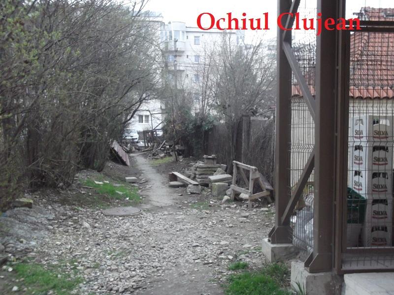 Clujul in imagini! Aleea dintre strazile Taberei-Tasnad, un pericol pentru clujeni FOTO