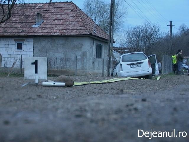 Accident in Caseiu, soldat cu doua persoane ranite FOTO-VIDEO