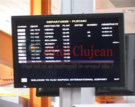 Traficul aerian din Cluj afectat de greva angajatilor Lufthansa