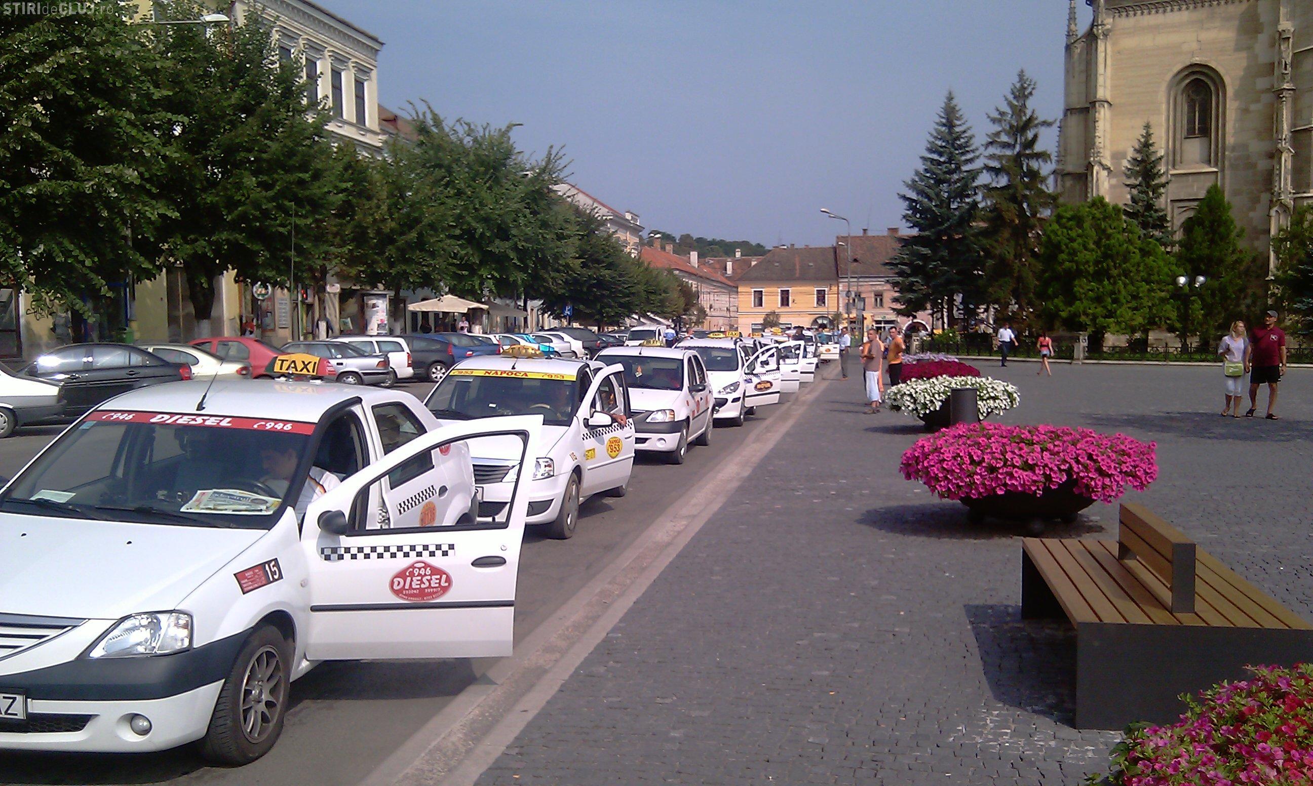 Taximetriștii din Cluj vor sa majoreze tarifele cu 50%: Vom bloca toate trecerile de pietoni din oraș