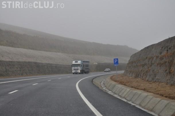 Accident pe centura Vâlcele-Apahida! Un camion plin cu nisip, a ramas fara frane