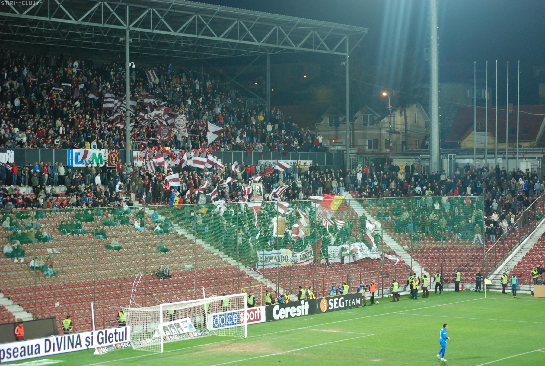 Suporteri, interziși la meciul CFR Cluj – Dinamo