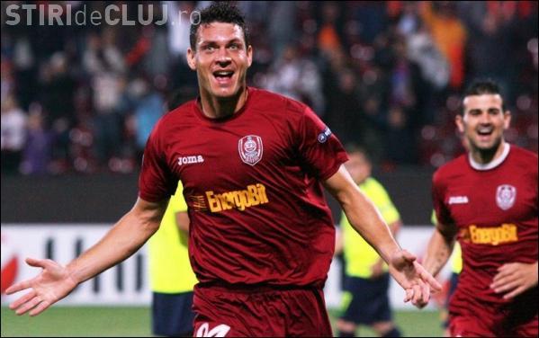 CFR Cluj a pierdut in fata echipei Pandurii Tg-Jiu cu scorul de 2-3 VIDEO