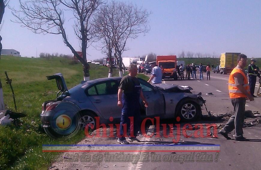 Accident la Copaceni! Trei persoane ranite si o fetita de 10 ani a murit VIDEO