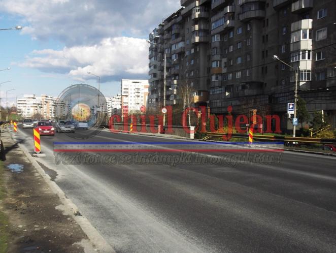 Clujul in reparatii!Podul Calvaria si alte strazi din Manastur vor fi asfaltate FOTO