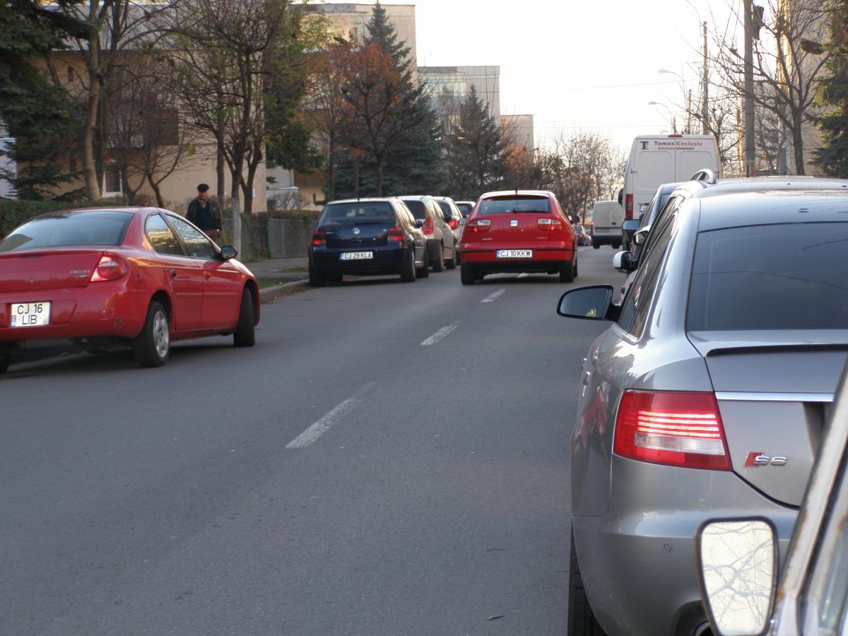Circulatie cu sens unic pe strada Gheorghe Dima