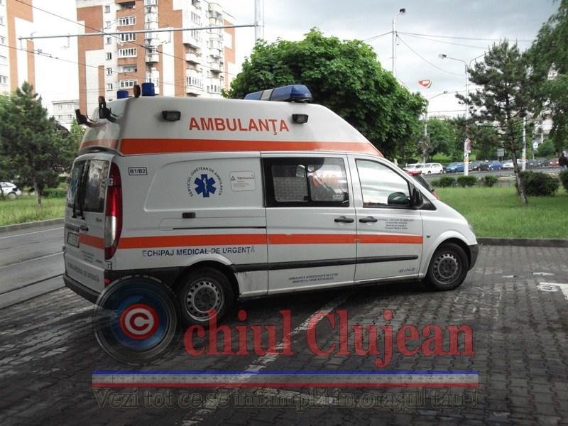 Accident in Cluj-Napoca ! O tanara a fost lovita de masina pe strada Bistritei