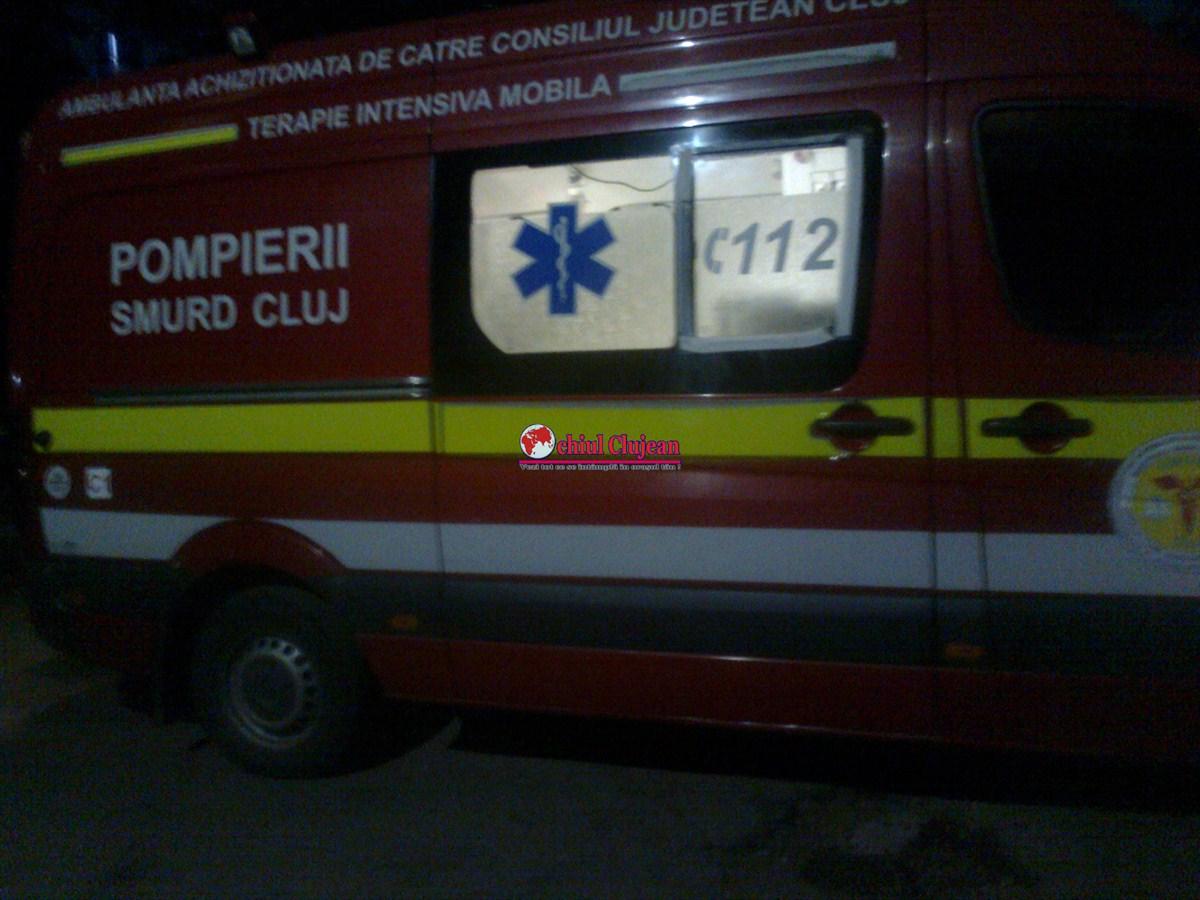 Accident mortal la Cluj! Un pieton a fost spulberat de un autoturism