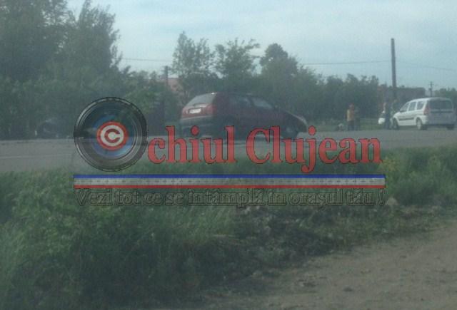 Imagini! Accident mortal pe DN1C in localitatea Bontida! O persoana a murit iar alta este grav ranita FOTO-VIDEO