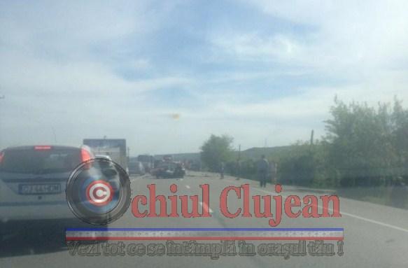 Accident mortal in Bontida! O persoana a murit FOTO