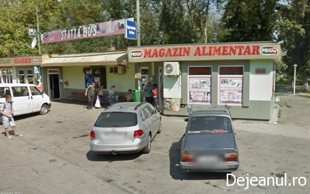 Un magazin alimentar din Dej a fost calcat de hoti.Prejudiciu de 7000 lei.