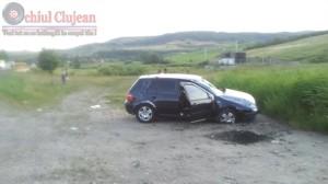 s-a rasturnat cu masina la intrare in Sanpaul (1)
