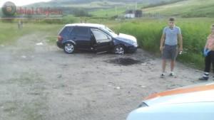 s-a rasturnat cu masina la intrare in Sanpaul (3)