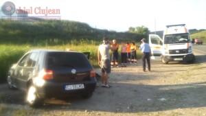 s-a rasturnat cu masina la intrare in Sanpaul (5)