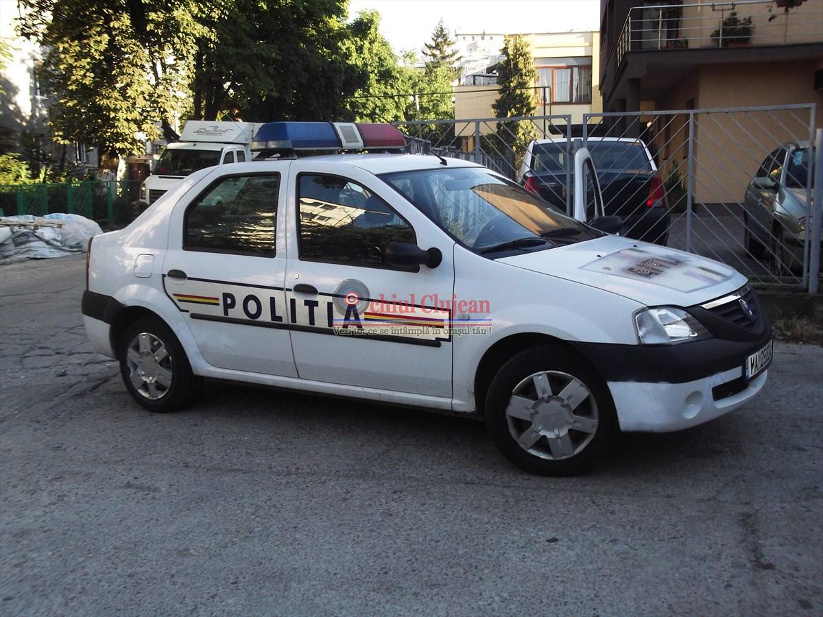 Furt de carburant din rezervorul unui autocamion la Cluj