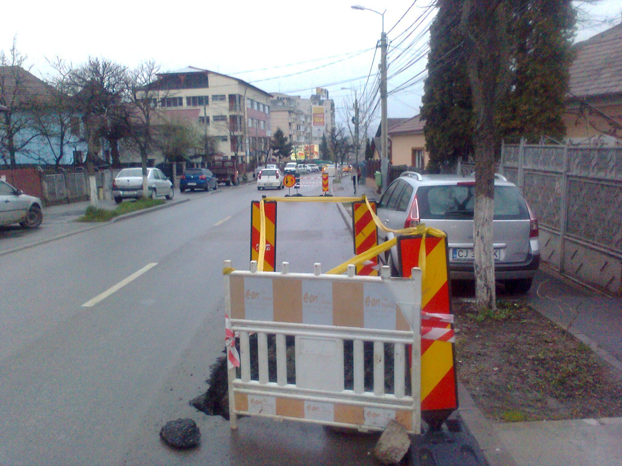 E-On Gaz amendată la Cluj cu 84.000 lei pentru intarzierea finalizarii lucrarilor din oras