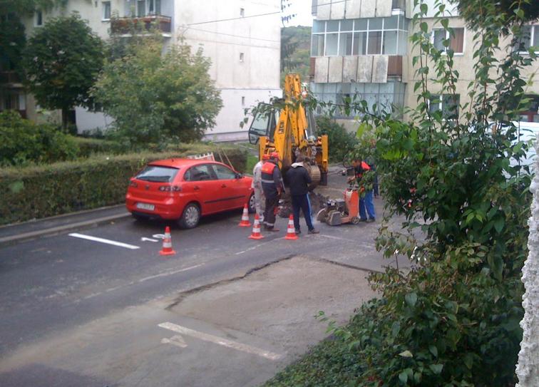 E.ON sparge, în Mănăștur pe Brateș și Tășnad, străzi recent asfaltate – FOTO