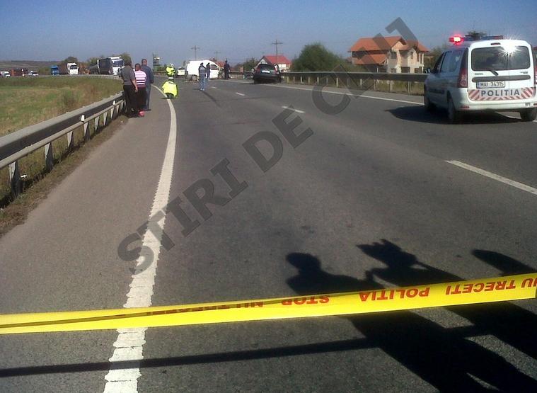 Accident pe centura Apahida! O tanara de 26 de ani a murit FOTO