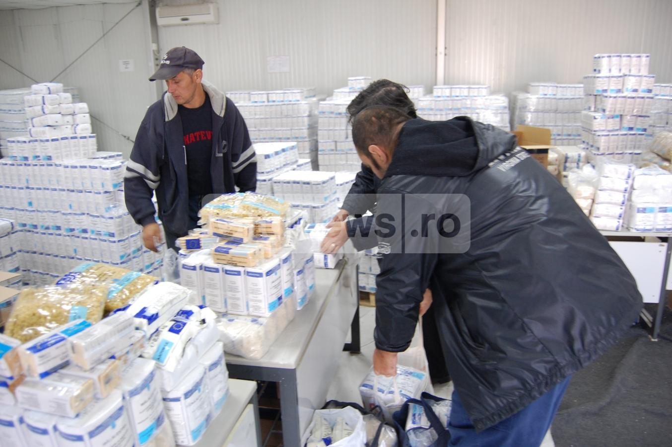 Primaria va imparti din nou alimente gratuite clujenilor