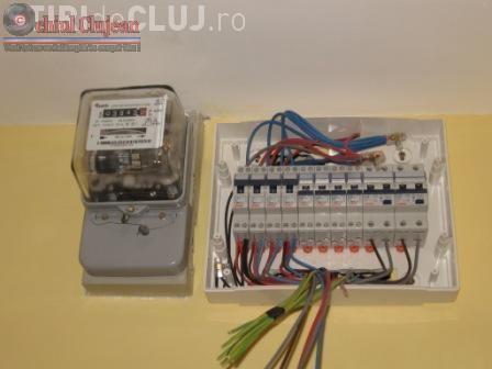 Furt de energie electrica în centrul Clujului