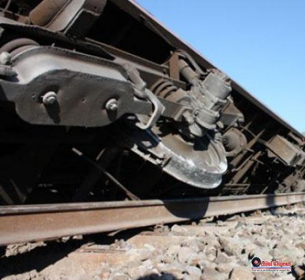 Tren deraiat in zona CUG