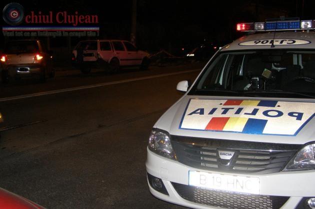 Accident pe strada Locomotivei din Cluj-Napoca! O persoana a fost ranita  FOTO
