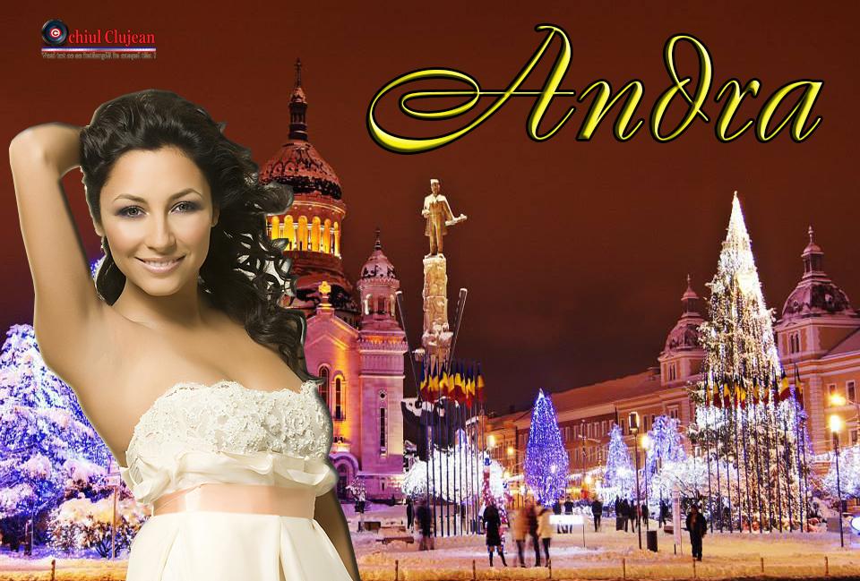 Andra va concerta la Târgul de Crăciun de la Cluj-Napoca