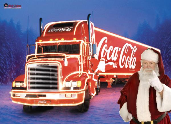 Caravana Coca-Cola sosește la Cluj-Napoca