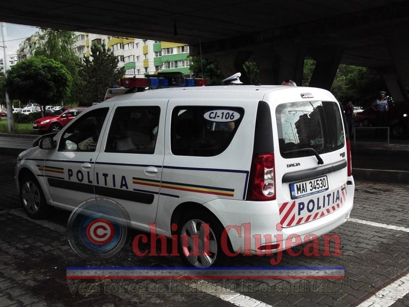 Accident pe Calea Turzii! Femeie de 39 de ani accidentata de o masina pe trecere de pietoni. Soferul a parasit locul accidentului