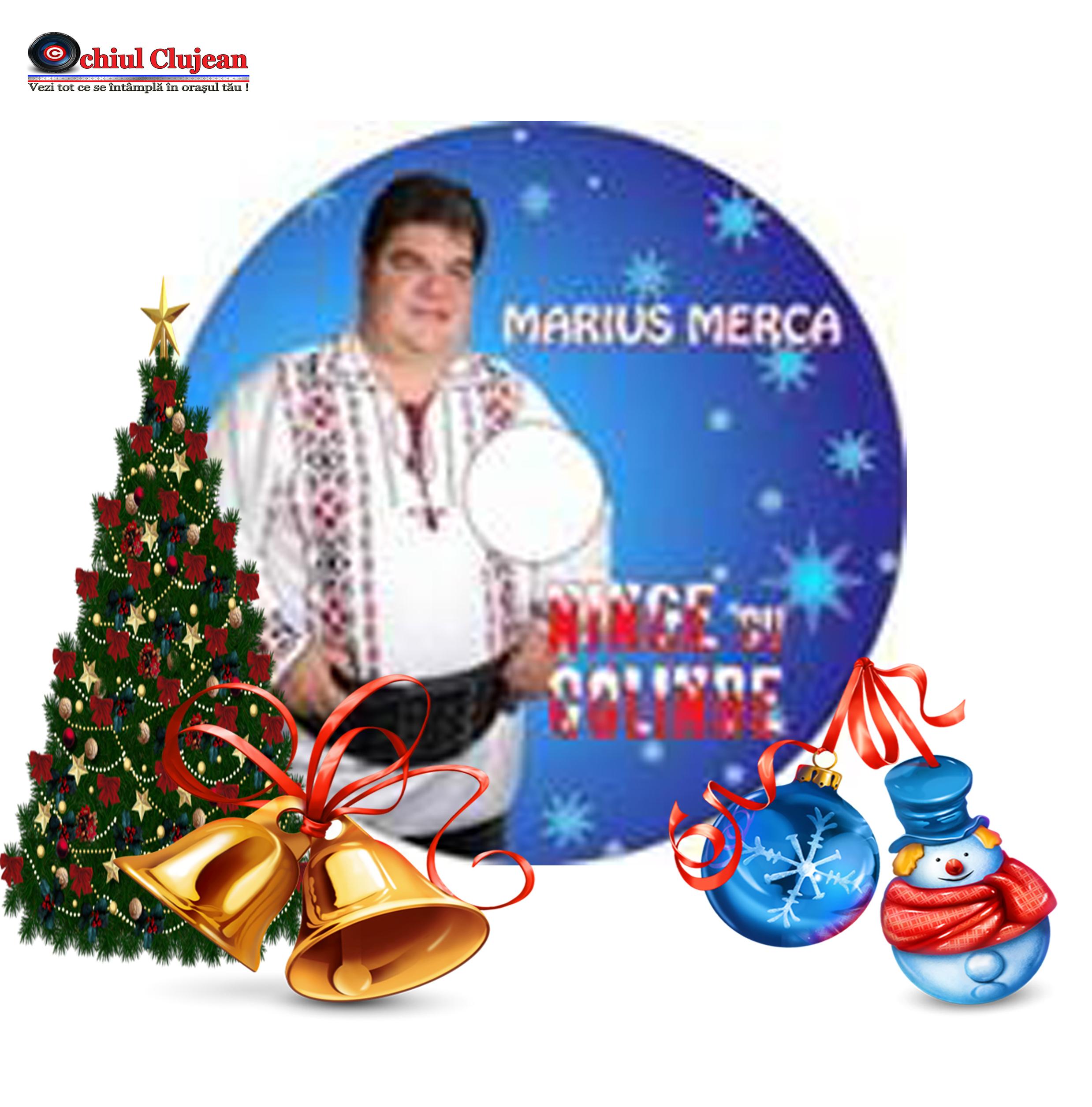 Marius Merca, primul său CD de colinde