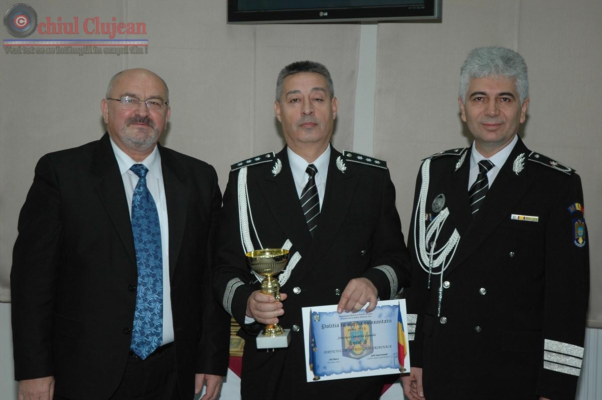 Politistul anului 2013 la Cluj FOTO