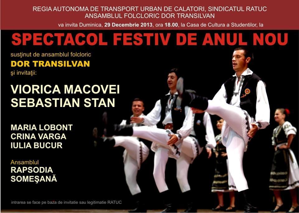 SPECTACOL FESTIV DE ANUL NOU
