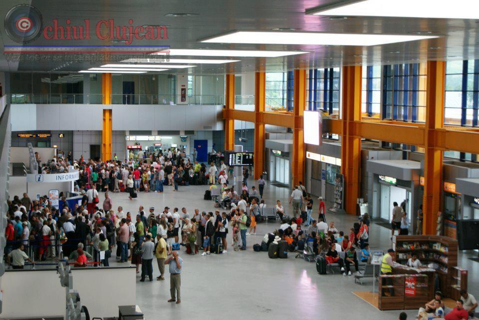 Alarma cu BOMBA la Aeroportul din Cluj-Napoca si Targu-Mures