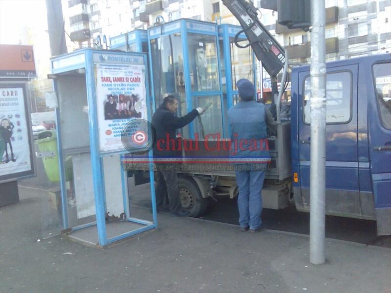 ROMTELECOM FARA TON! Cabinele TELEFONICE ridicate la Cluj (1)