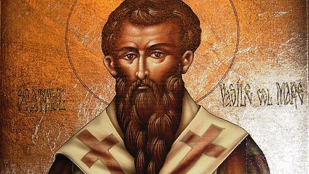 Sfântul Ierarh Vasile cel Mare, prăznuit pe 1 ianuarie