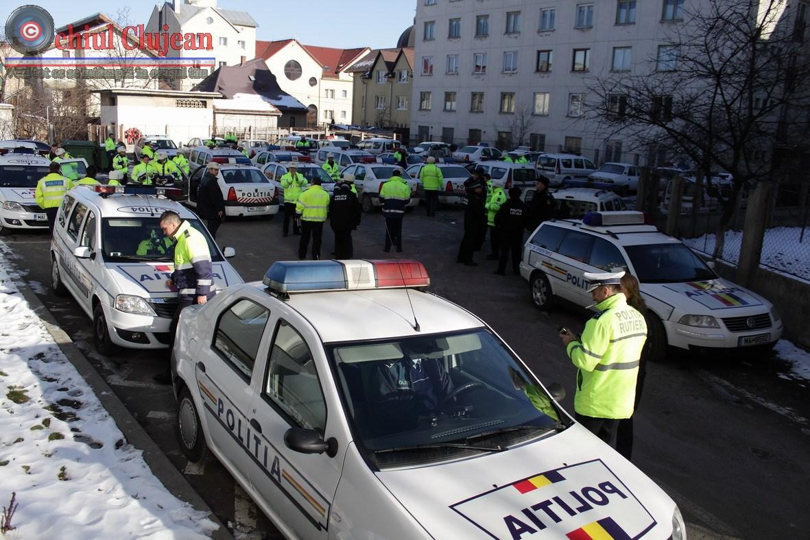 Cluj:Peste 280 de soferi clujeni au fost amendati intr-o singura zi, si 7 permise retinute