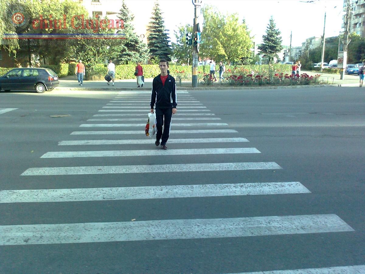 Accident GRAV in Gheorgheni! O femeie a fost lovita de un autoturism pe trecerea de pietoni