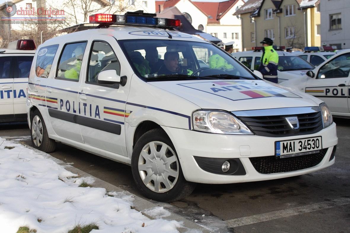 Conducător auto identificat de poliţişti după ce a părăsit locul accidentului