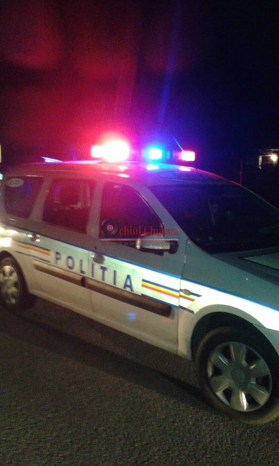 Bărbat din Sic, depistat de polițiștii gherleni, în timp ce conducea beat și fără permis