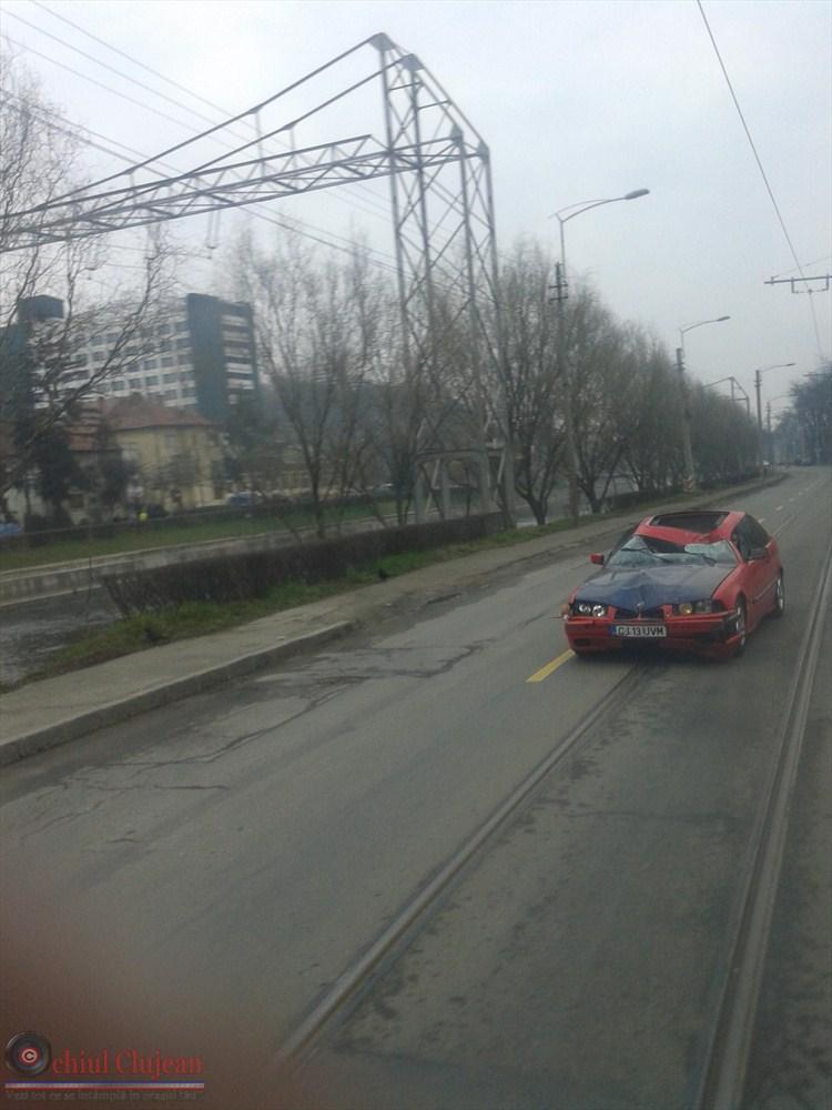 Accident mortal in Cluj-Napoca! Biciclist lovit mortal de un BMW. Soferul a fugit de la locul accidentului FOTO