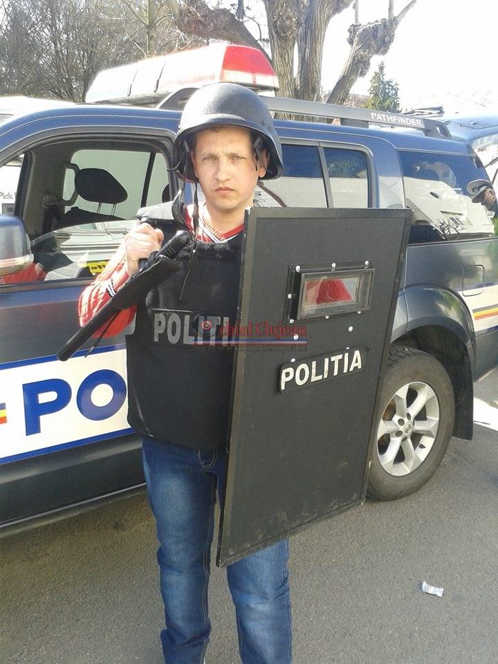 IPJ Cluj: Fii polițist pentru o zi!