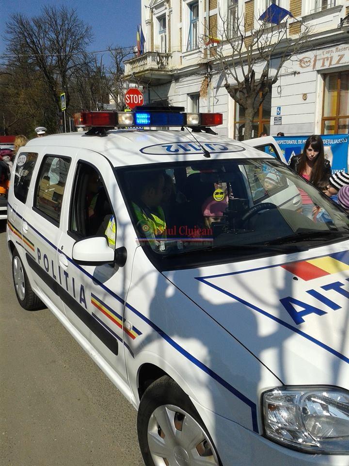 Ziua Politiei Romane sarbatorita la Gherla FOTO-VIDEO