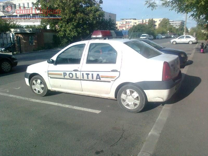 Cluj: Polițiștii, alături de elevi, la începutul noului an școlar