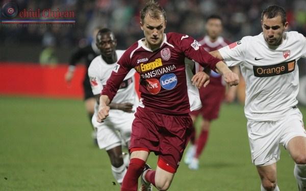 Fotbal: Dinamo Bucuresti – CFR Cluj 0-3