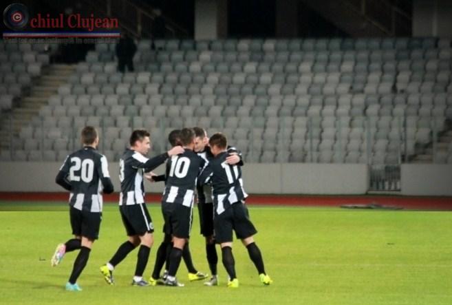 Fotbal: Brasov- Cluj 0-2