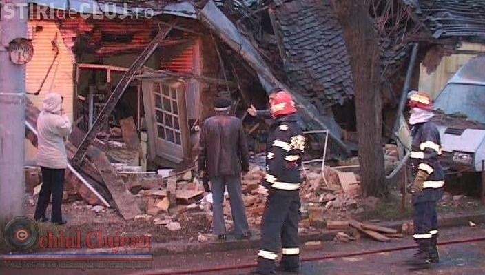Explozie intr-un imobil din Izvorul Crisului. O persoana a decedat VIDEO