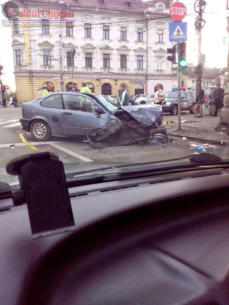 Tanarul implicat in accidentul de pe strada Dragalina, a fost arestat