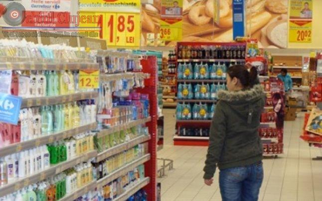 Clujeanca cercetata de politisti pentru ca a furat dintr-un supermarket