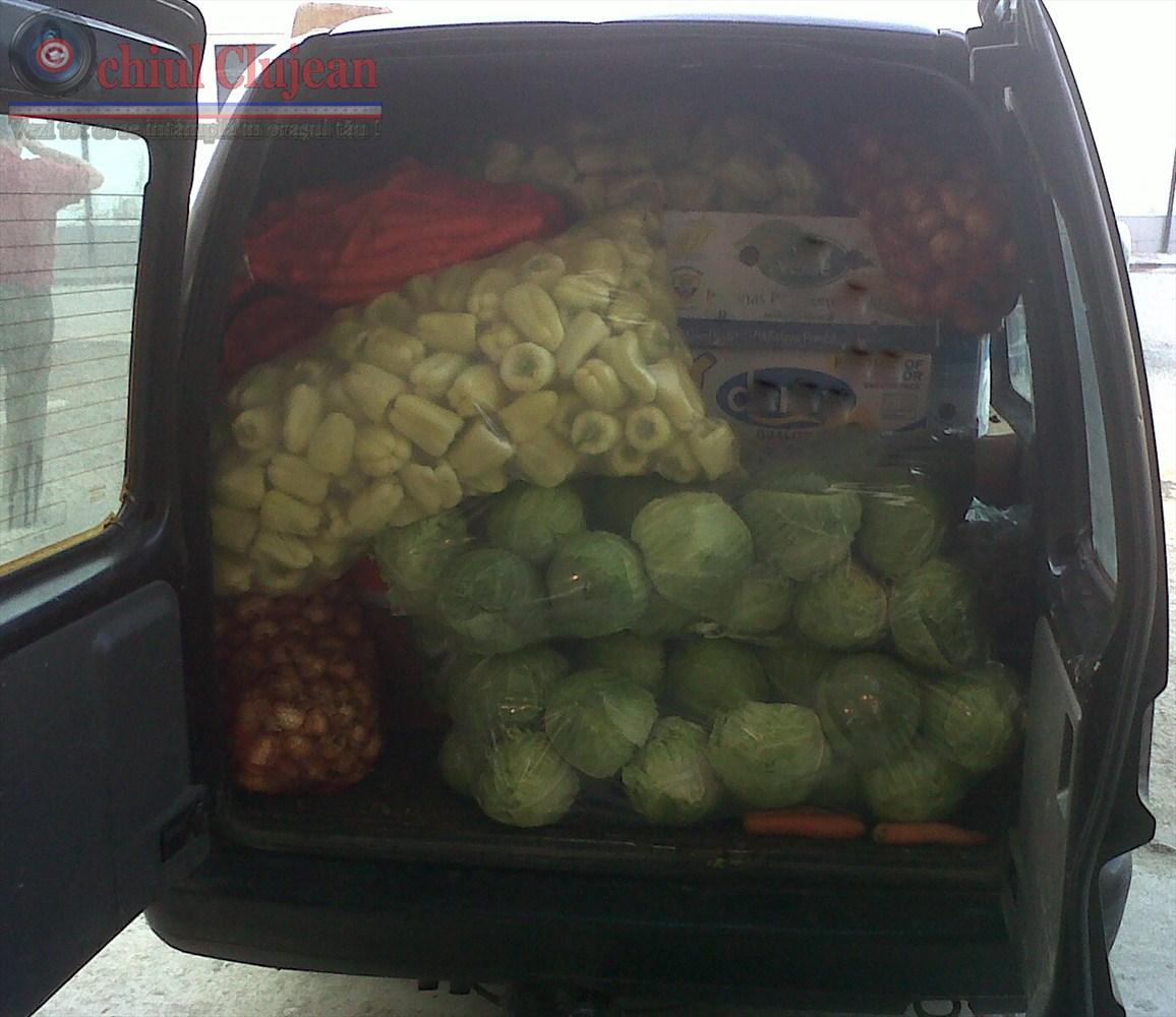 Circa 500 de kilograme, confiscate de politistii clujeni