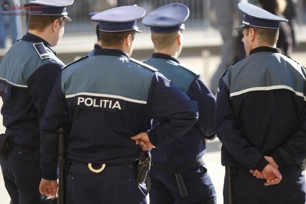 Actiune de amploare desfasurata de politisti, la Turda